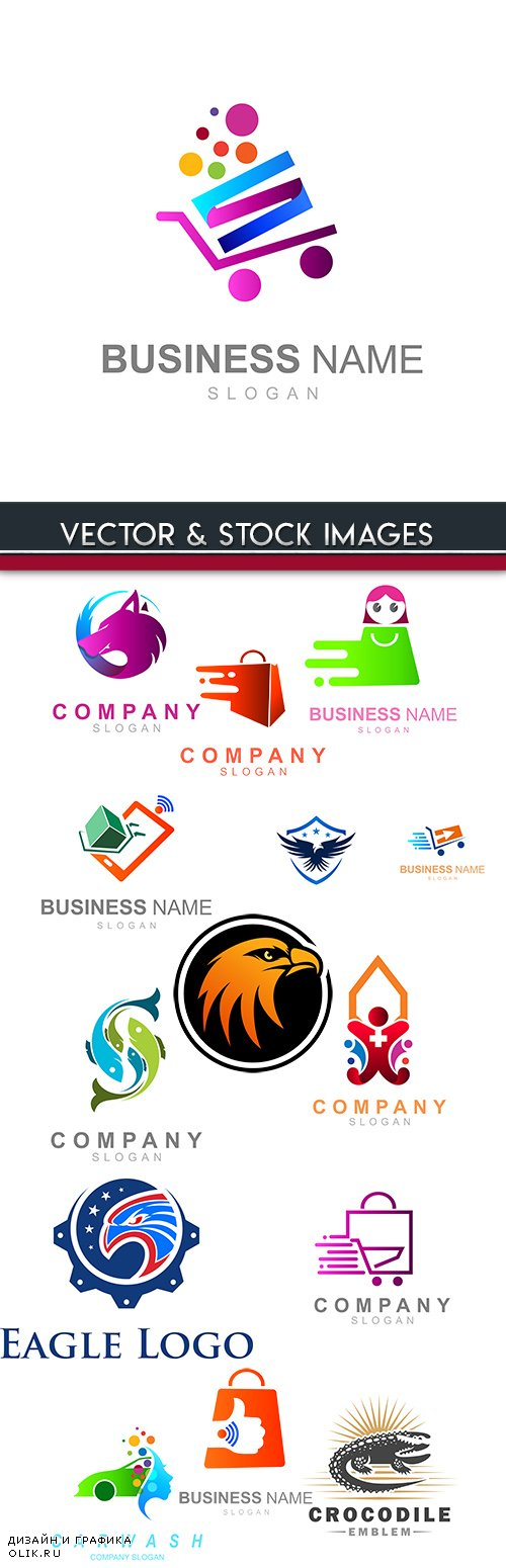 Creative logos corporate business company design 22