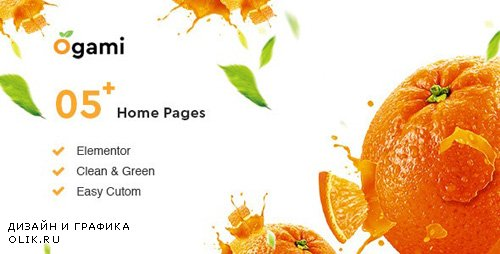 ThemeForest - Ogami v1.3 - Organic Store & Bakery WordPress Theme - 23346473