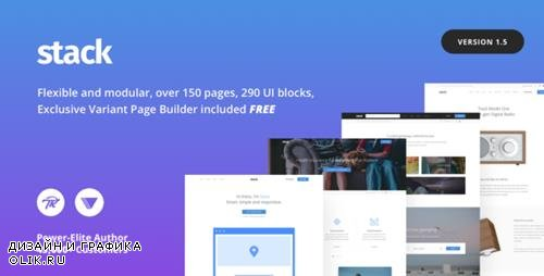ThemeForest - Stack v1.5.15 - Multi-Purpose WordPress Theme with Variant Page Builder & Visual Composer - 19707359