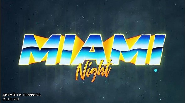 Retro Wave Intro #3 246302 - After Effects Templates