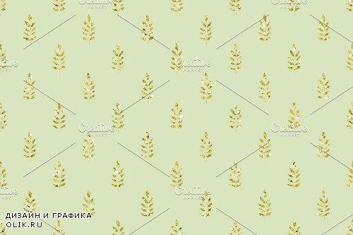 Glitter Geometric Digital Papers - 3791551