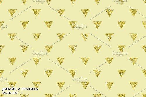 Glitter Geometric Digital Papers - 3791528