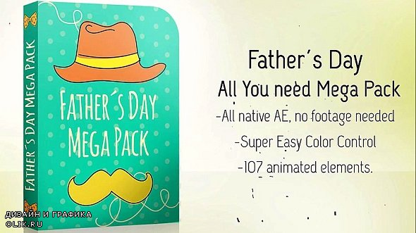Fathers Day Full Pack 247765 - After Effects Templates