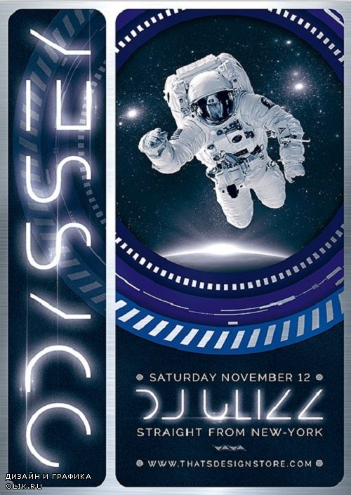 Odyssey Flyer Template V2 - 3855101