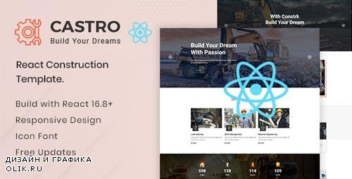 ThemeForest - Castro v1.0 - React Construction Template - 23902821