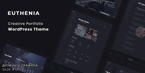 ThemeForest - Euthenia v1.0 - Creative Portfolio WordPress Theme - 23668788