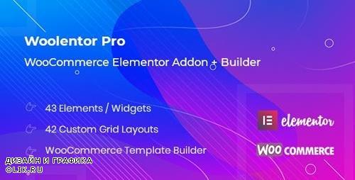 CodeCanyon - WooLentor Pro v1.0.0 - WooCommerce Elementor Addons + Builder - 23896302