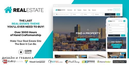 ThemeForest - Real Estate 7 v2.8.8 - Real Estate WordPress Theme - 12473778