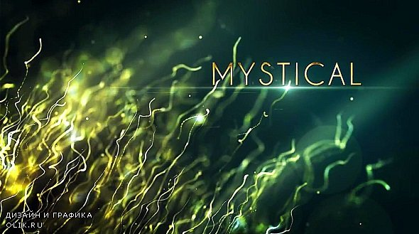 Mystical Particles Titles 247001 - After Effects Templates