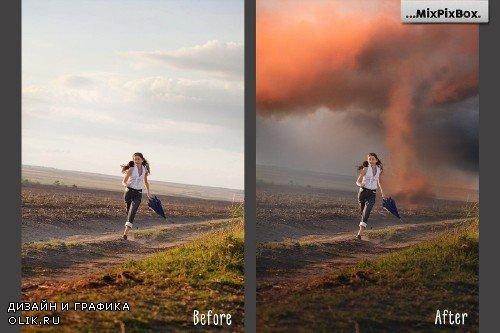Tornado Photo Overlays - 3843985
