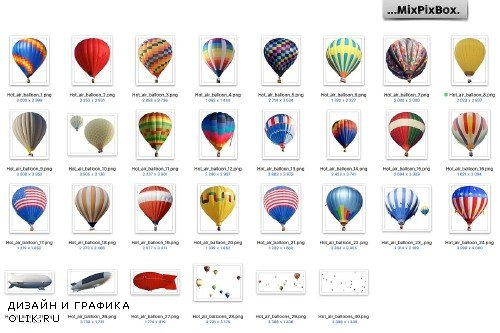 Hot Air Balloon Overlays - 3819838