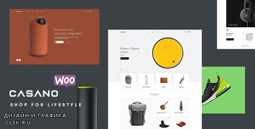 ThemeForest - Casano v1.0.0 - WooCommerce Theme For Accessories & Life Style - 23870983