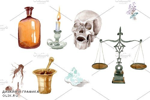 Pharmacy (devices) watercolor png - 3865090