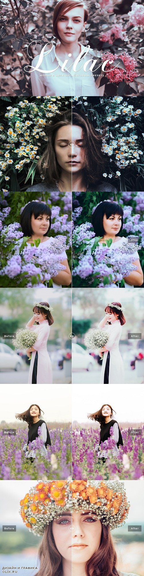 Lilac Lightroom Presets Collection - 3850785