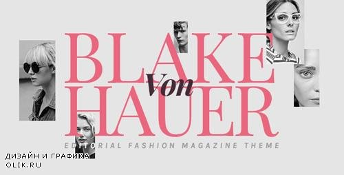 ThemeForest - Blake von Hauer v4.3.2 - Editorial Fashion Magazine Theme - 17400102