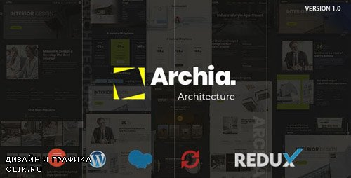 ThemeForest - Archia v1.0.0 - Architecture & Interior WordPress Theme - 23841788