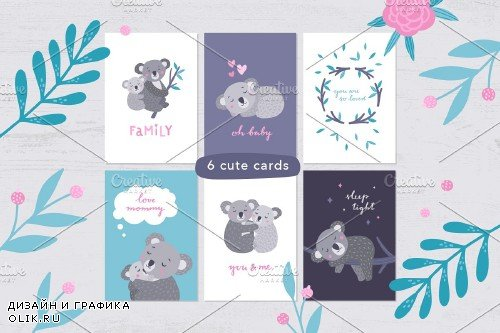 Koala Family Illustrations - 3865993