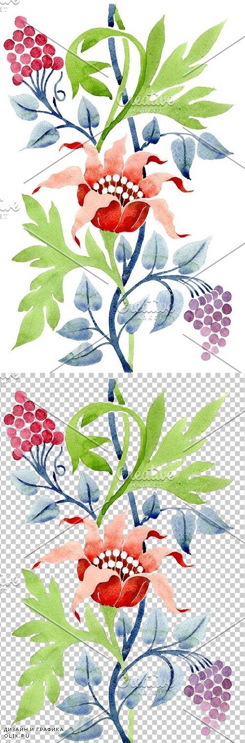 Ornament flower Aromas of nature - 3869712