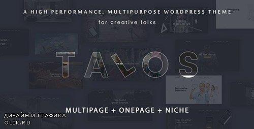 ThemeForest - Talos v1.3.0 - Creative Multipurpose WordPress Theme - 19294792