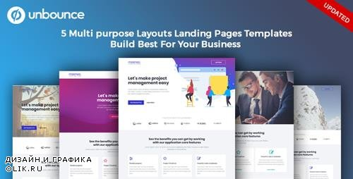 ThemeForest - Masnoo - Multi-Purpose Template with Unbounce Page Builder (Update: 25 October 18) - 22644881