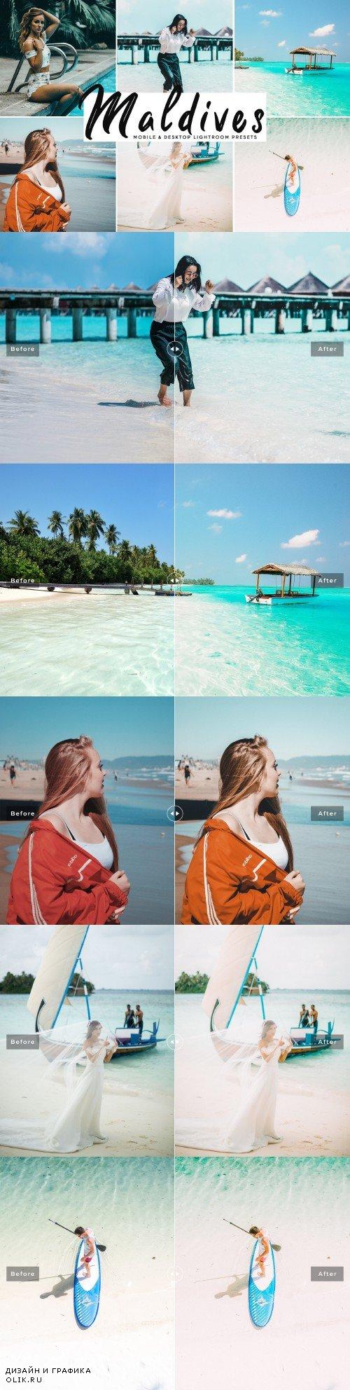 Maldives Lightroom Presets Pack - 3865618