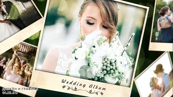 Romantic Wedding Slideshow 250724 - After Effects Templates