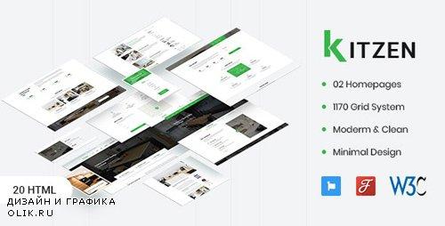 ThemeForest - Kitzen v1.0 - Modern Kitchen HTML Template - 23462494