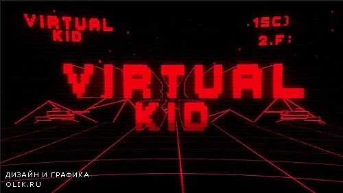 Virtual Kid Title Reveal 250481 - After Effects Templates