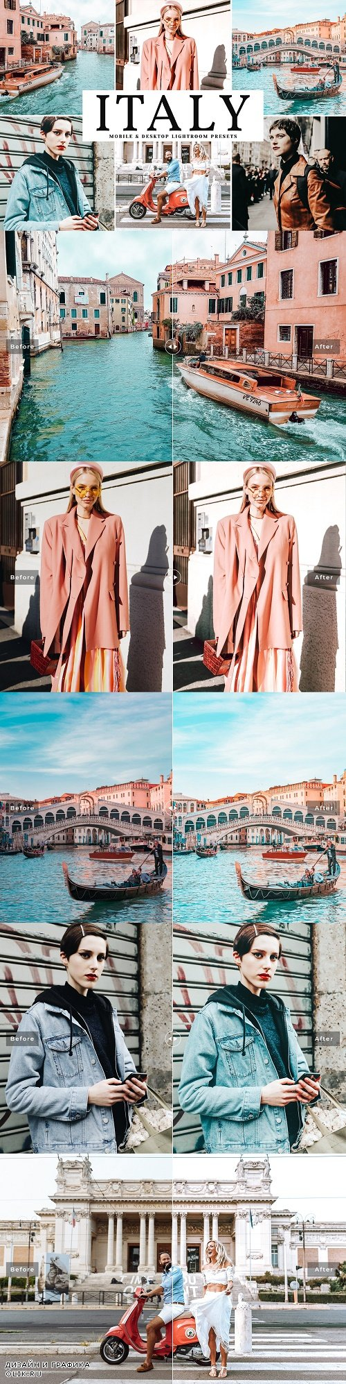 Italy LRM Presets Pack - 3884432