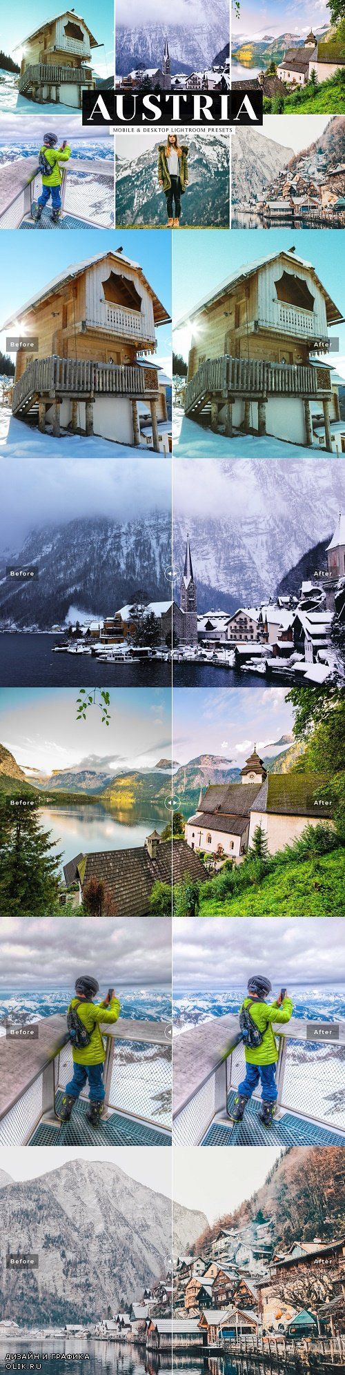Austria Lightroom Presets Pack - 3874972