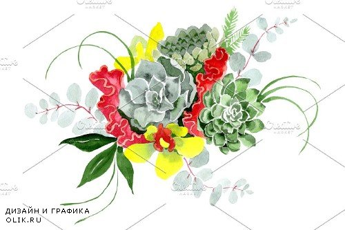 "Bouquet ""Long-awaited happiness"" - 3886051"