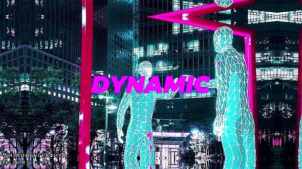 Neon Quick Action - After Effects Templates