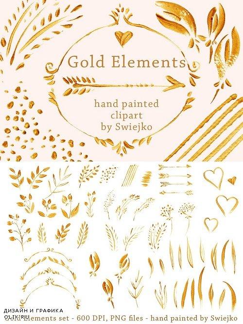 Gold Design Elements - 1261033