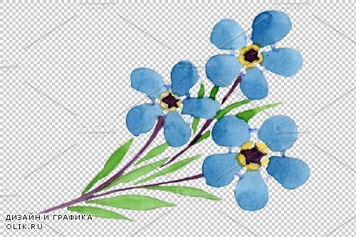 lily of the valley, forget-me-nots - 3890966