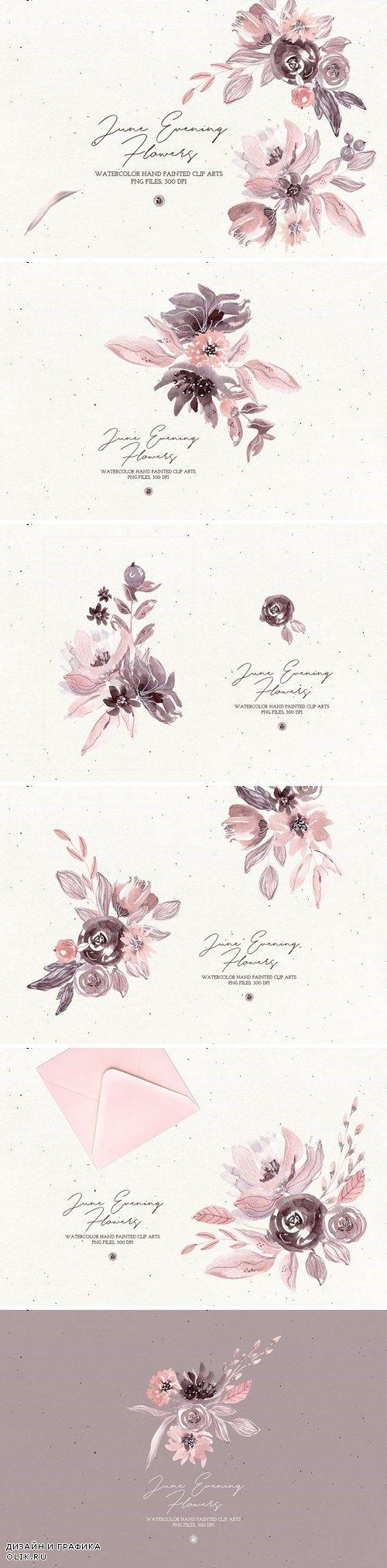 June Evening Flowers - 3891077