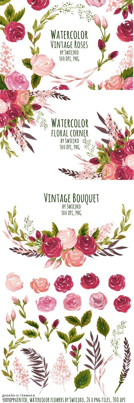 Vintage Roses - 512678