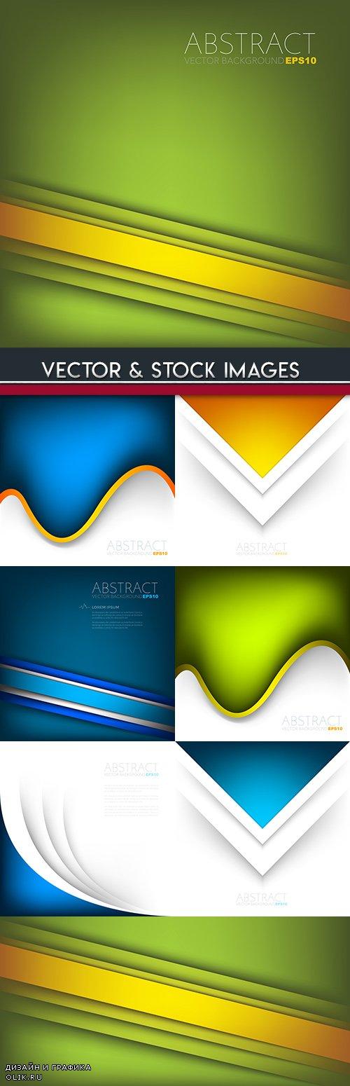 Modern decorative background geometrical elements design 3