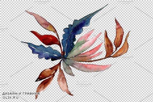 Bouquet Gentle rustle watercolor png - 3900060