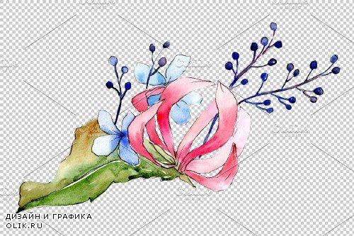 Bouquet Bonfire feelings watercolor - 3900098