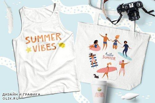 Beach Party, Summer Vector Art - 3761848