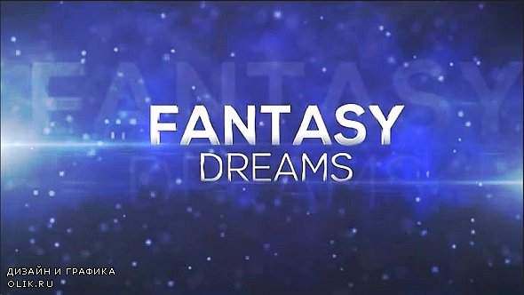 Fantasy Dreams - After Effects Templates