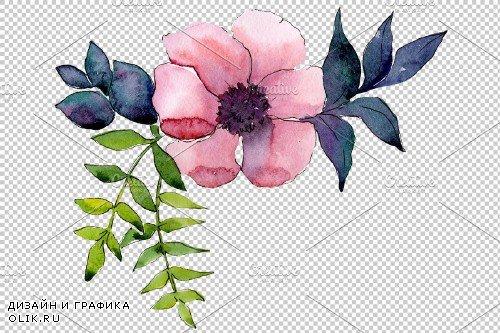Flower Symphony watercolor png - 3908707