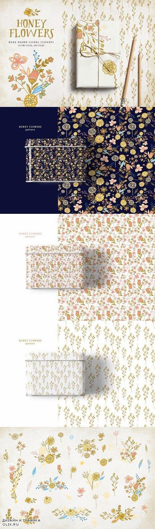 Honey Flowers - 663613