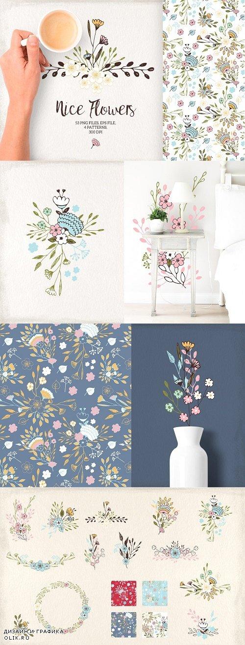 Nice Flowers - 697588