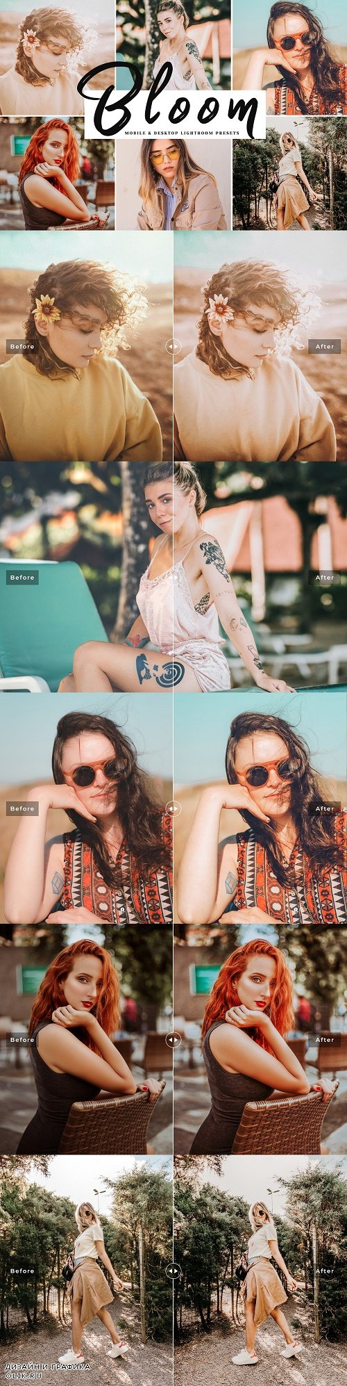 Bloom Lightroom Presets - 3882317