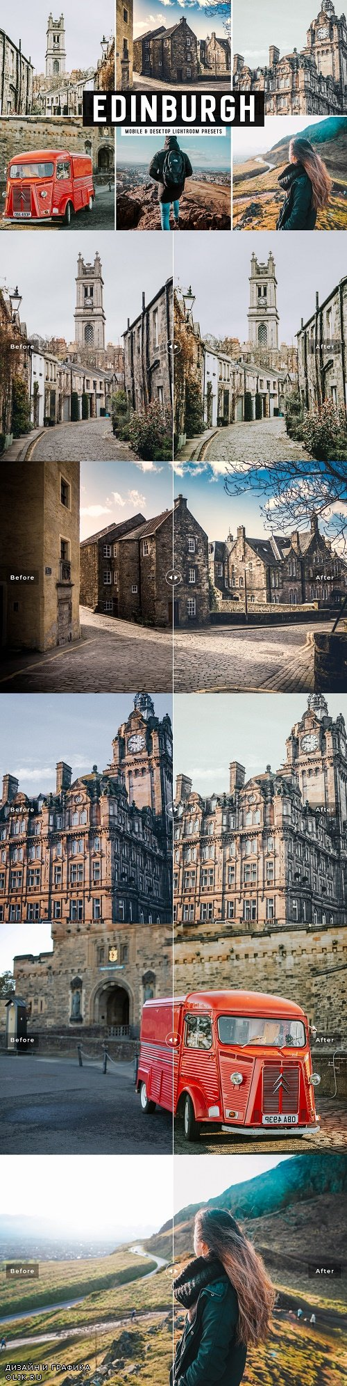 Edinburgh Pro Lightroom Presets - 3882405