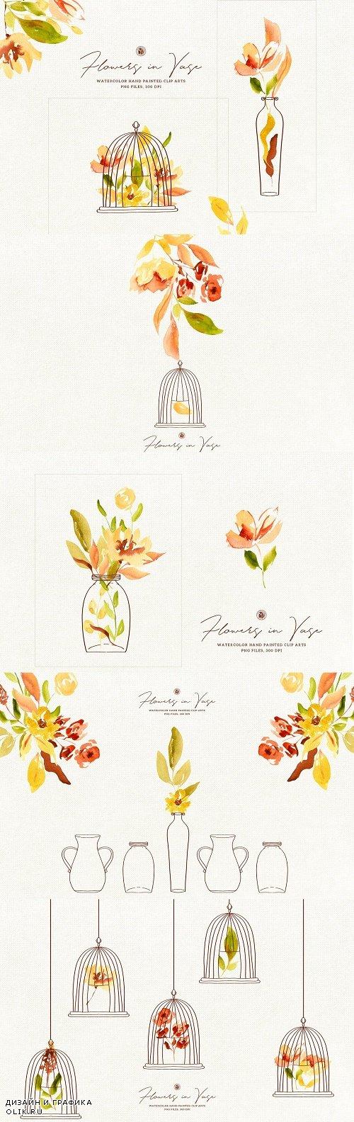 Flowers in Vase - 3916077