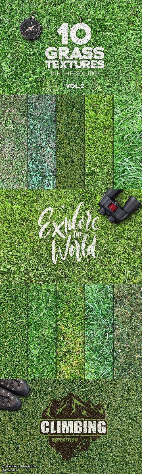 Grass Textures x10 vol2 - 3928459