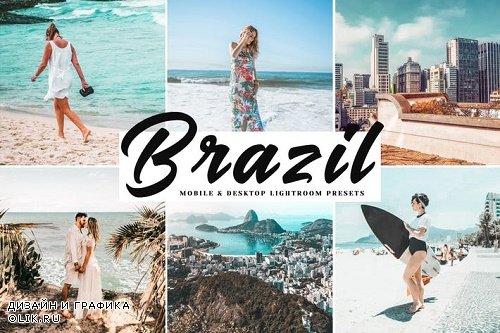 Brazil Lightroom Presets Pack - Mobile & Desktop Lightroom Presets - 3938806