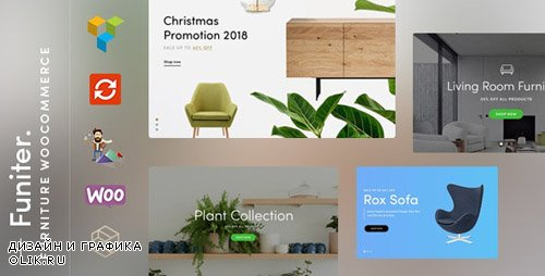 ThemeForest - Funiter v1.2.4 - Elegant furniture shop for WooCommerce - 23005729